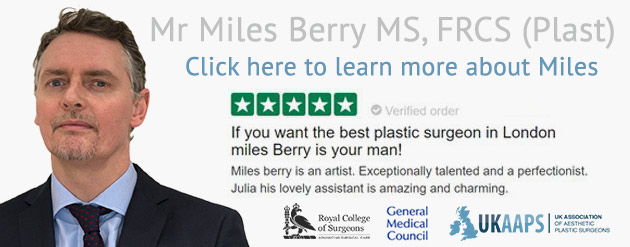 London cosmetic surgeon Miles Berry