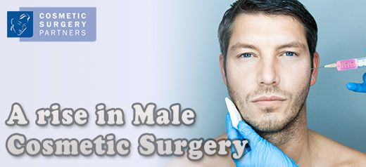 Cosmetic surgery for men is on the rise, figures show