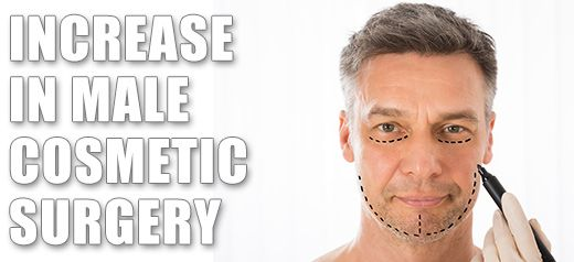 Cosmetic surgery is now more acceptable for men