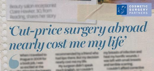 Don't go abroad for cheap Cosmetic Surgery A warning from patient