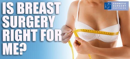 Is breast reduction surgery right for me