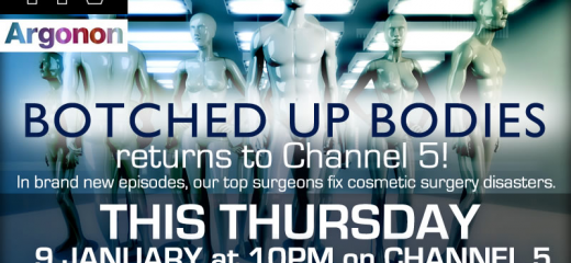 UK Cosmetic Surgeon Nick Percival features in Series 3 of TV Show Botched Up Bodies