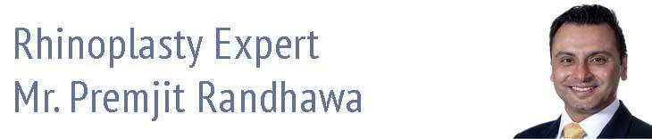 Expert rhinoplasty surgeon Premjit Randhawa